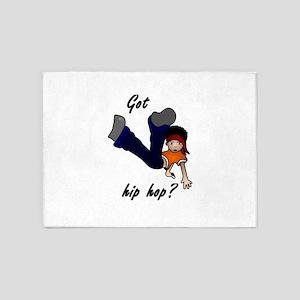 Got hip hop? 5'x7'Area Rug