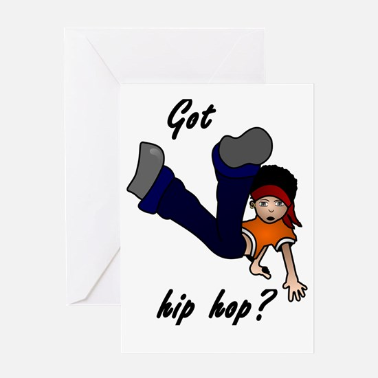 Got hip hop? Greeting Cards