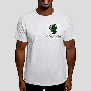 Clan Arthur Map - Light T-Shirt