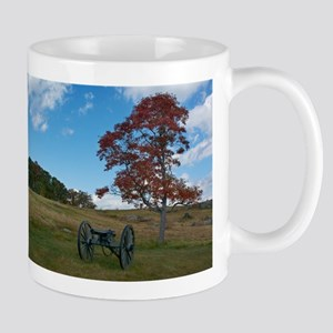 Gettysburg National Park - Fall - Cannon Mugs