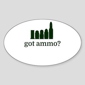 got ammo? Sticker