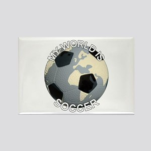 My World is Soccer Magnets