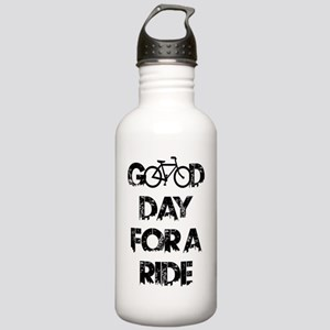 Good Day For A Ride Stainless Water Bottle 1.0L