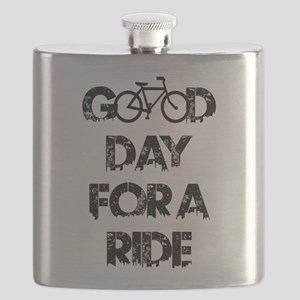Good Day For A Ride Flask