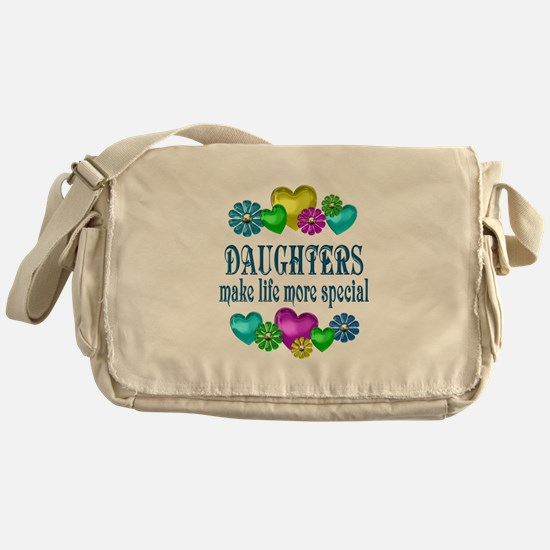 Daughters More Special Messenger Bag