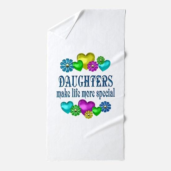 Daughters More Special Beach Towel