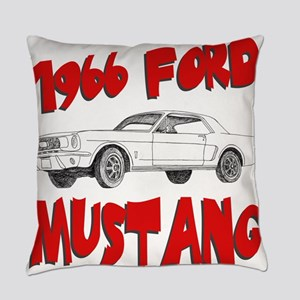 66 mustang Everyday Pillow