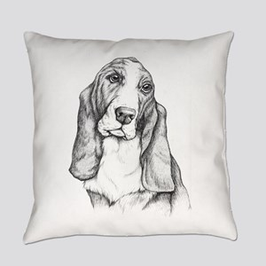 basset Everyday Pillow