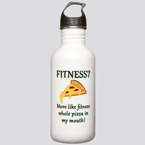 FITNESS? More like fit Stainless Water Bottle 1.0L