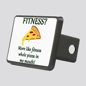FITNESS? More like fitness Rectangular Hitch Cover