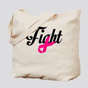 Fight Breast Cancer Awareness Tote Bag