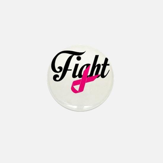 Fight Breast Cancer Awareness Mini Button