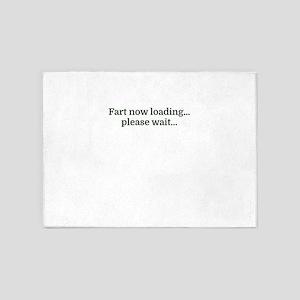 Fart now loading...please wait... 5'x7'Area Rug