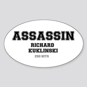 ASSASSIN - RICHARD KUKLINSKI, USA Sticker