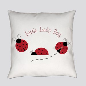 Little Lady Bug Everyday Pillow
