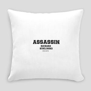 ASSASSIN - RICHARD KUKLINSKI, USA. Everyday Pillow