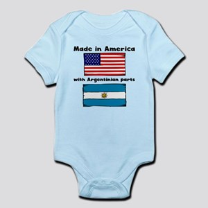 Made In America With Argentinian Parts Body Suit