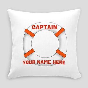 Custom Captain Everyday Pillow
