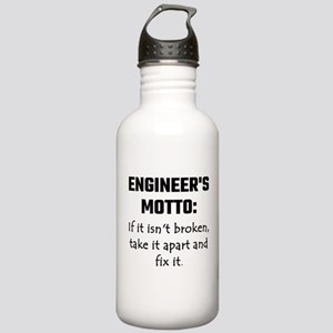 Engineer's Motto: If I Stainless Water Bottle 1.0L