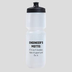 Engineer's Motto: If It Isn't Broken Sports Bottle