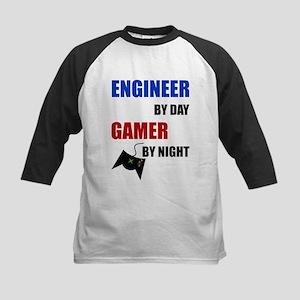 Engineer By Day Gamer By Night Baseball Jersey