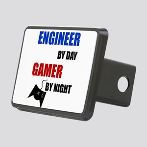 Engineer By Day Gamer By N Rectangular Hitch Cover