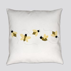 Bumble Bees Everyday Pillow