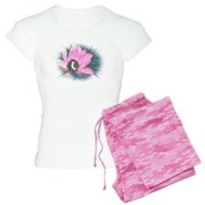 Pretty In Pink 8 Ball Women's Light Pajamas