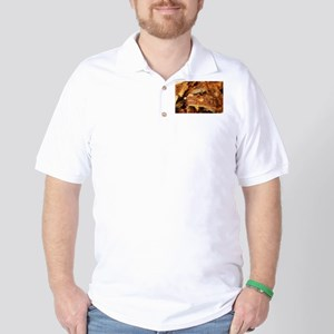 barbequed ribs close Golf Shirt
