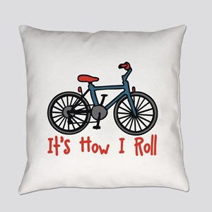 How I Roll Everyday Pillow