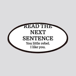 Do Not Read The Next Sentence Patch