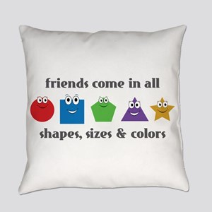 Learning Friends Everyday Pillow