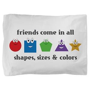 Learning Friends Pillow Sham