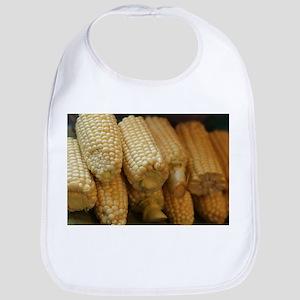 rows of corn ears Bib