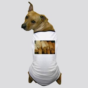 rows of corn ears Dog T-Shirt