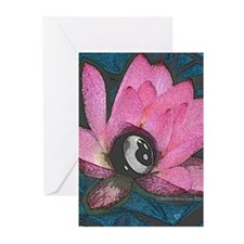 Pretty In Pink 8 Ball Greeting Cards (Pk of 10)