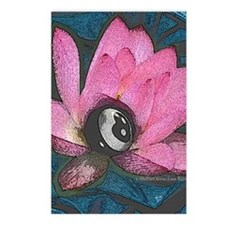Pretty In Pink 8 Ball Postcards (Package of 8)