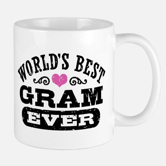 World's Best Gram Ever Mug