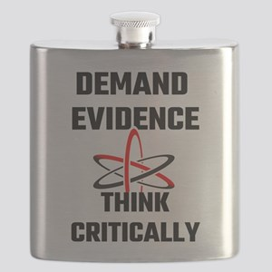 Demand Evidence Think Critically Flask