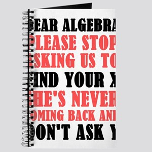 Dear Algebra Please Stop Asking Us To Find Journal