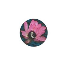 Pretty In Pink 8 Ball Mini Button (100 pack)