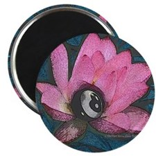 Pretty In Pink 8 Ball Magnet