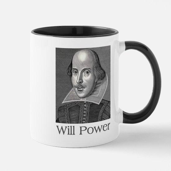 Shakespeare Will Power Mugs