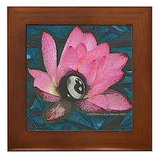 Pretty In Pink 8 Ball Framed Tile