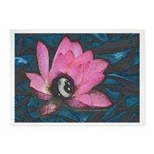 Pretty In Pink 8 Ball 5'x7'Area Rug