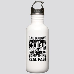 Dad Knows Everything Stainless Water Bottle 1.0L