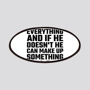 Dad Knows Everything Patch