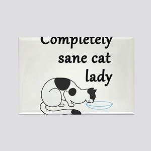 Completely Sane Cat Lady Magnets