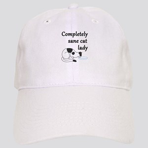 Completely Sane Cat Lady Cap