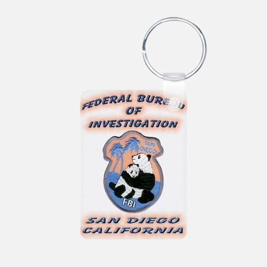 FBI San Diego Keychains